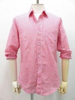 Frank&Eileen(フランクアンドアイリーン)ギンガムチェックシャツ  ピンク