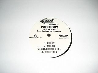 PAPERBOY CED West G-Rap プロモ