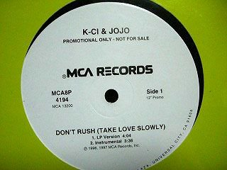 K-ci&Jojo Don't Rush プロモ