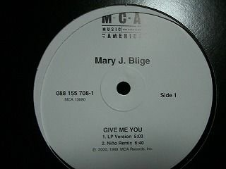 MARY J. BLIGE GiveMeYou