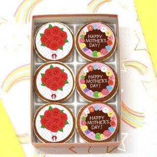 母の日フォトカップケーキ(6個入り)