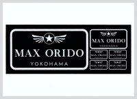 MAX ORIDO YOKOHAMA NEWステッカー