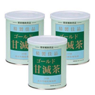 ゴールド甘減茶 3缶