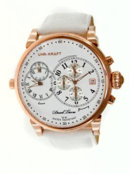 Uhr-kraft 27002/1rgw Dualtimer Mens Watch