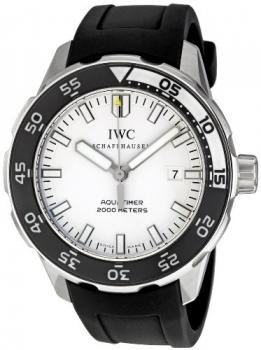 IWC Men's IW356811 Aquatimer White Dial Watch