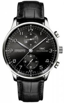 NEW IWC PORTUGUESE CHRONOGRAPH AUTOMATIC MENS WATCH IW371447
