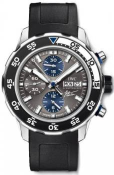 NEW IWC AQUATIMER COUSTEAU EDITION CHRONO-AUTOMATIC MENS WATCH IW376706