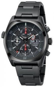 Luminox Men's SR-71 Blackbird 9082.BO Black Stainless-Steel Automatic Watch with Black Dial
