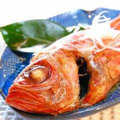 豪快!漁師風一匹丸煮付け(姿煮) 金目鯛煮太郎【箱入】【贈答】