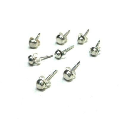 silver-studs pierce P10
