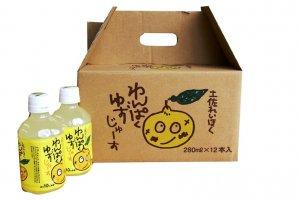 わんぱくゆずジュース(280ml・12本入り)