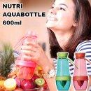 ●ニュートリアクアボトル600ml 39374【BO-11】【果汁 ジュース 果物 搾り フレーバーウォーター 健康 ヘルシー】