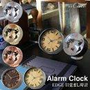 置き時計 EDGE 目覚まし時計 GLOBE SIMPLE TELR1090 1870【スパイス SPICE】置時計