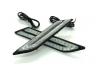 高輝度LED 汎用 マーカーランプ デイライト サイドマーカー ウインカー 12V アンバー