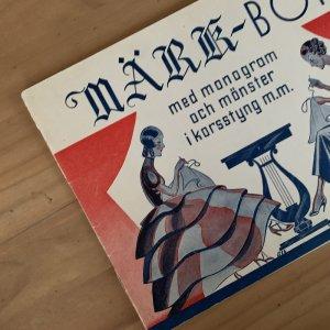 sweden刺繍図案MARKBOK