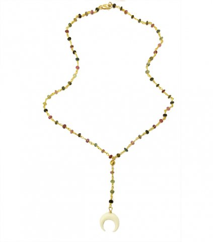 <img class='new_mark_img1' src='//img.shop-pro.jp/img/new/icons13.gif' style='border:none;display:inline;margin:0px;padding:0px;width:auto;' />Crescent Rosary NECKLACE