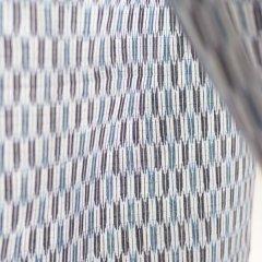 久留米絣 矢絣/縹色と薄浅葱色