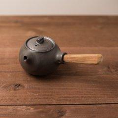 馬場勝文陶工房 黒釉 急須(煎茶)