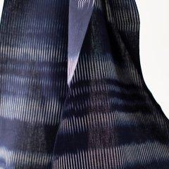 久留米絣 青のオーロラ(1反)