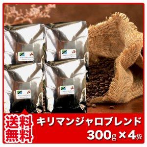 【送料無料】キリマンジャロブレンド【300g×4袋】