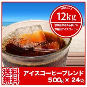 【送料無料】アイスコーヒーブレンド(ラオス)まとめ買い【500g×24袋】