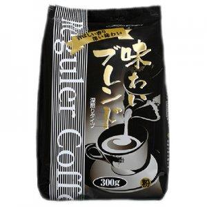 【送料無料】味わいブレンド 深煎り(粉)300g ×15袋入り