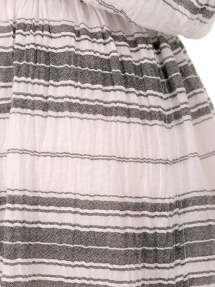 LOVESTITCHのJuliettaCaftanDress/海外ファッションが好きな大人カジュアルのためのLOVESTITCH(ラブステッチ)のワンピースやマキシワンピース。サラッとした肌触りのボーダーマキシ。涼しげな質感と透け感があります。/main-8