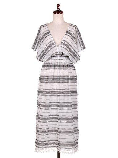 海外ファッション好きのためのカリフォルニアテイストの大人カジュアルインポートブランドLOVESTITCH(ラブステッチ)のJulietta Caftan Dress