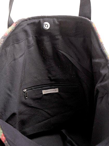 LOVESTITCHのOliveTote/海外ファッションが好きな大人カジュアルのためのLOVESTITCH(ラブステッチ)のバッグやトートバッグ。大胆なネイティブ柄の大型トートバッグ。説明不要の可愛さです・・・。/main-11