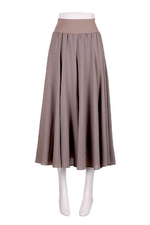 CircularSkirt(Solid)大人カジュアルに最適な海外ファッションのothers(その他インポートアイテム)のボトムやスカート。ほっそりシルエットのロングスカート。この手のスカートにありがちな広がり感がなく、体系をカバーしながら下半身をスッキリ見せてくれます。/main-5