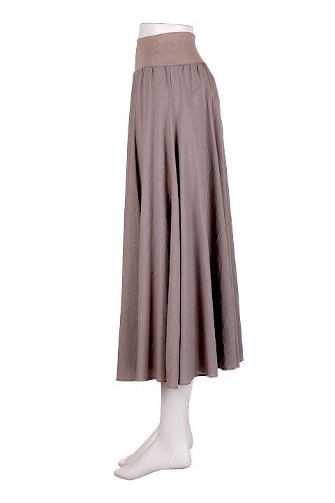 CircularSkirt(Solid)大人カジュアルに最適な海外ファッションのothers(その他インポートアイテム)のボトムやスカート。ほっそりシルエットのロングスカート。この手のスカートにありがちな広がり感がなく、体系をカバーしながら下半身をスッキリ見せてくれます。/main-7