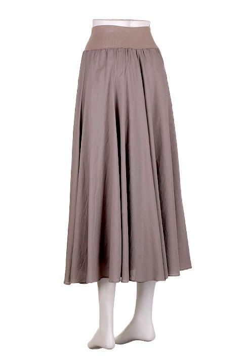 CircularSkirt(Solid)大人カジュアルに最適な海外ファッションのothers(その他インポートアイテム)のボトムやスカート。ほっそりシルエットのロングスカート。この手のスカートにありがちな広がり感がなく、体系をカバーしながら下半身をスッキリ見せてくれます。/main-8