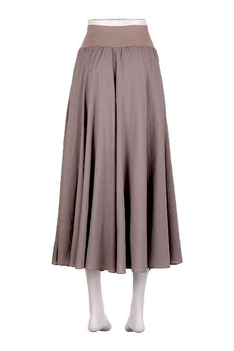 CircularSkirt(Solid)大人カジュアルに最適な海外ファッションのothers(その他インポートアイテム)のボトムやスカート。ほっそりシルエットのロングスカート。この手のスカートにありがちな広がり感がなく、体系をカバーしながら下半身をスッキリ見せてくれます。/main-9