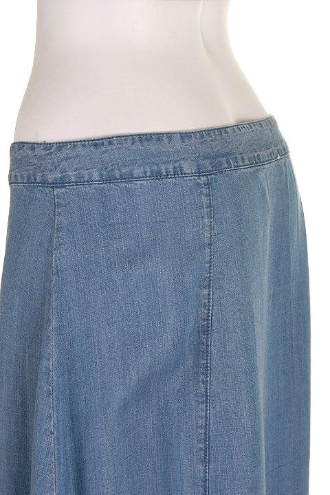 LOVESTITCHのJoanieMaxiSkirt/海外ファッションが好きな大人カジュアルのためのLOVESTITCH(ラブステッチ)のボトムやスカート。薄手のテンセルデニムを使用したマキシスカート。テロテロの素材感で季節を問わず大活躍。/main-6
