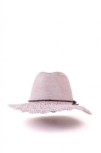 海外ファッションや大人カジュアルにオススメなインポートセレクトアイテムL.A.直輸入のCrochet Wide Brim Panama (Gray)
