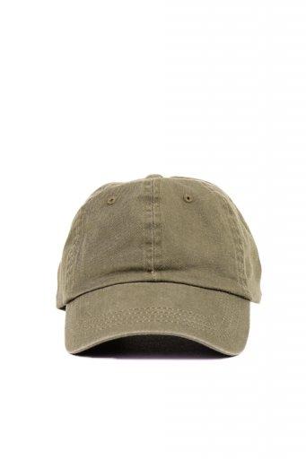 海外ファッションや大人カジュアルにオススメなインポートセレクトアイテムL.A.直輸入のCotton Twill Dad Cap (Olive)