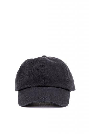 海外ファッションや大人カジュアルにオススメなインポートセレクトアイテムL.A.直輸入のCotton Twill Dad Cap (Black)