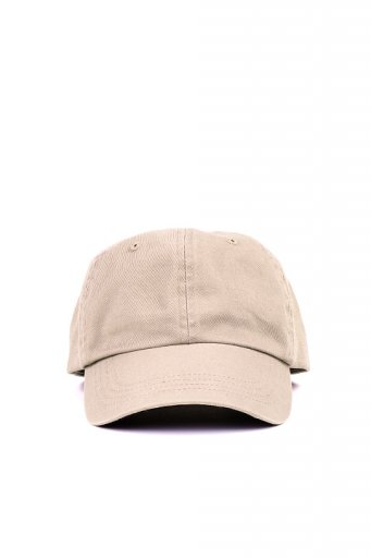 海外ファッションや大人カジュアルにオススメなインポートセレクトアイテムL.A.直輸入のCotton Twill Dad Cap (Beige)