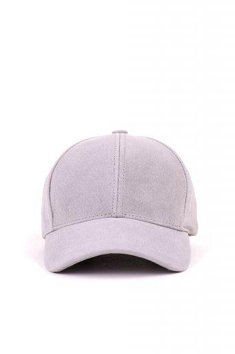 海外ファッションや大人カジュアルにオススメなインポートセレクトアイテムL.A.直輸入のSuede Leather Dad Cap (Gray)