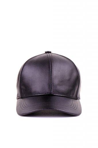 海外ファッションや大人カジュアルにオススメなインポートセレクトアイテムL.A.直輸入のGenuine Leather Dad Cap (Black)
