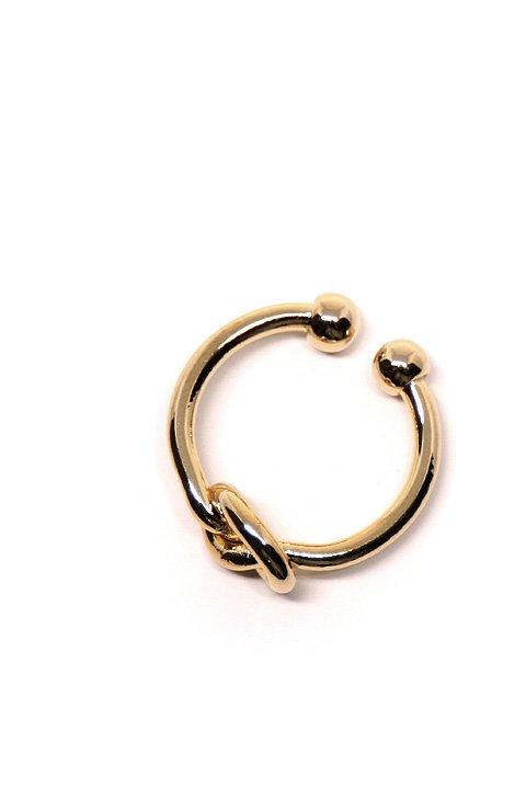 L.A.直輸入のOverhandKnotCuffRIng大人カジュアルに最適な海外ファッションのothers(その他インポートアイテム)のジュエリーやリング。結び目がモチーフのリング。カフタイプなので、多少のサイズ調整が可能です。/main-10