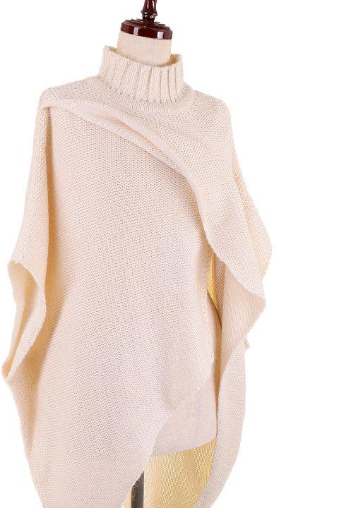 LOVESTITCHのTamaraSweater/海外ファッションが好きな大人カジュアルのためのLOVESTITCH(ラブステッチ)のトップスやニット・セーター。重ねた見頃とファンネルネックが可愛いオーバーサイズニット。アンゴラ混の柔らか素材でカジュアル感の中に高級感が感じられます。/main-10
