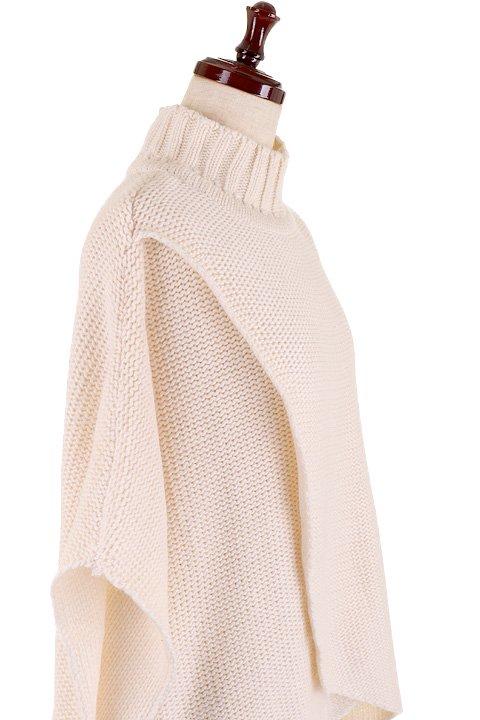 LOVESTITCHのTamaraSweater/海外ファッションが好きな大人カジュアルのためのLOVESTITCH(ラブステッチ)のトップスやニット・セーター。重ねた見頃とファンネルネックが可愛いオーバーサイズニット。アンゴラ混の柔らか素材でカジュアル感の中に高級感が感じられます。/main-11