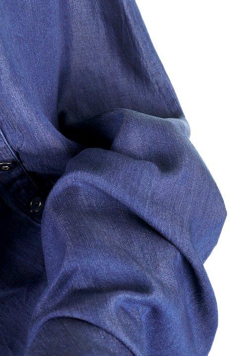LOVESTITCHのJoanieMaxiSkirt(Indigo)テンセルデニム・マキシスカート/海外ファッションが好きな大人カジュアルのためのLOVESTITCH(ラブステッチ)のボトムやスカート。薄手のテンセルデニムを使用したマキシスカート。テロテロの素材感で季節を問わず大活躍。/main-8