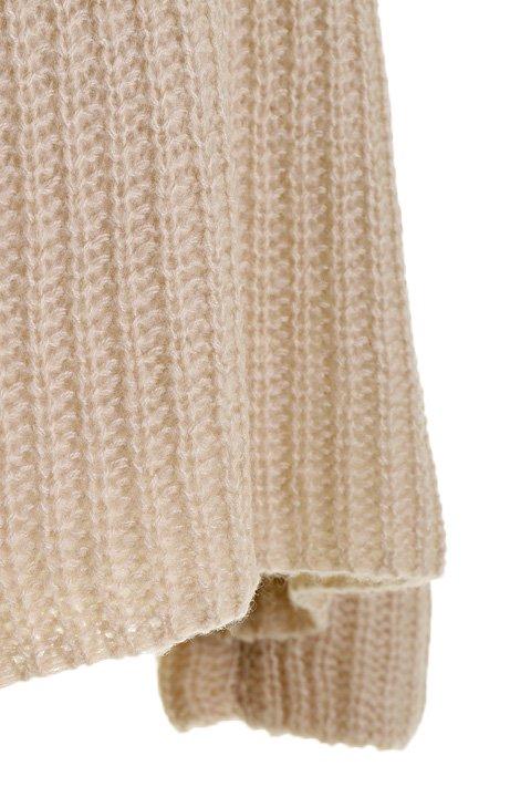 CottonCandyL.A.のBoulderSweater(Beige)/セクシーさのある大人カジュアルブランドCottonCandyL.A.(コットンキャンディーL.A.)のトップスやニット・セーター。秋から春まで楽しめるオーバーサイズのロールネックセーター。人気のモックネックとロールネックを合わせたようなデザインで、アメリカ本国でも人気のアイテムです。/main-12