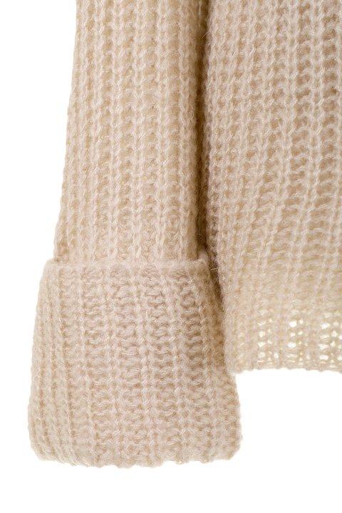 CottonCandyL.A.のBoulderSweater(Beige)/セクシーさのある大人カジュアルブランドCottonCandyL.A.(コットンキャンディーL.A.)のトップスやニット・セーター。秋から春まで楽しめるオーバーサイズのロールネックセーター。人気のモックネックとロールネックを合わせたようなデザインで、アメリカ本国でも人気のアイテムです。/main-13