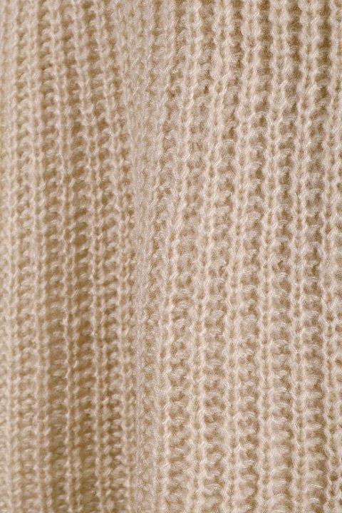 CottonCandyL.A.のBoulderSweater(Beige)/セクシーさのある大人カジュアルブランドCottonCandyL.A.(コットンキャンディーL.A.)のトップスやニット・セーター。秋から春まで楽しめるオーバーサイズのロールネックセーター。人気のモックネックとロールネックを合わせたようなデザインで、アメリカ本国でも人気のアイテムです。/main-14