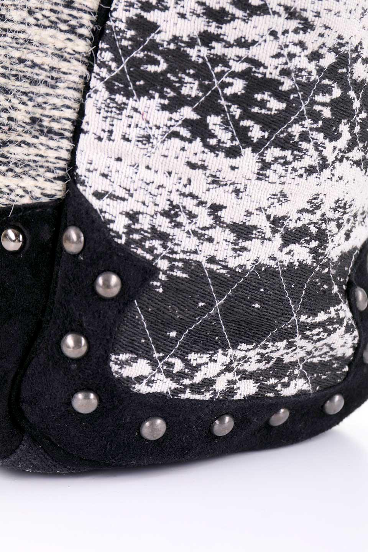 LOVESTITCHのWyomingTote/海外ファッションが好きな大人カジュアルのためのLOVESTITCH(ラブステッチ)のバッグやトートバッグ。オルテガモチーフのミニトートバッグ。強靭なジュート素材とヌバックレザーのクールなコンビネーションです。/main-11