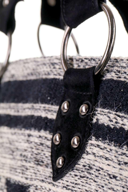 LOVESTITCHのWyomingTote/海外ファッションが好きな大人カジュアルのためのLOVESTITCH(ラブステッチ)のバッグやトートバッグ。オルテガモチーフのミニトートバッグ。強靭なジュート素材とヌバックレザーのクールなコンビネーションです。/main-9