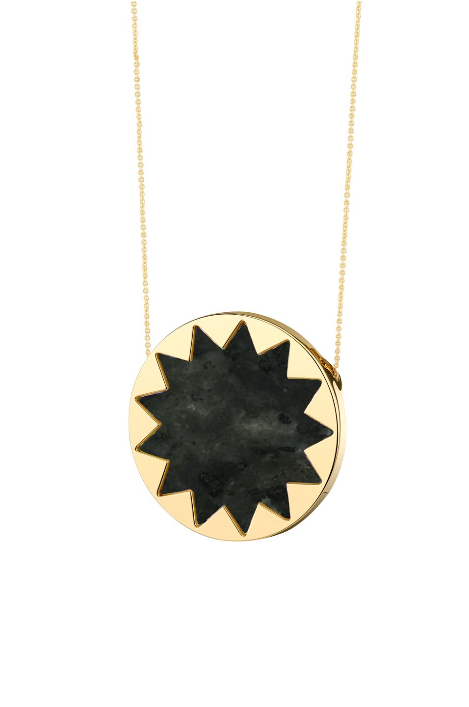 Sunburst pyramid pendant necklace by house of harlow 1960jewelry houseofharlow1960sunburstpyramidpendantnecklacehouseofharlow1960 mozeypictures Image collections